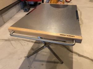 ユニフレーム(UNIFRAME)焚き火テーブル 便利なカスタム